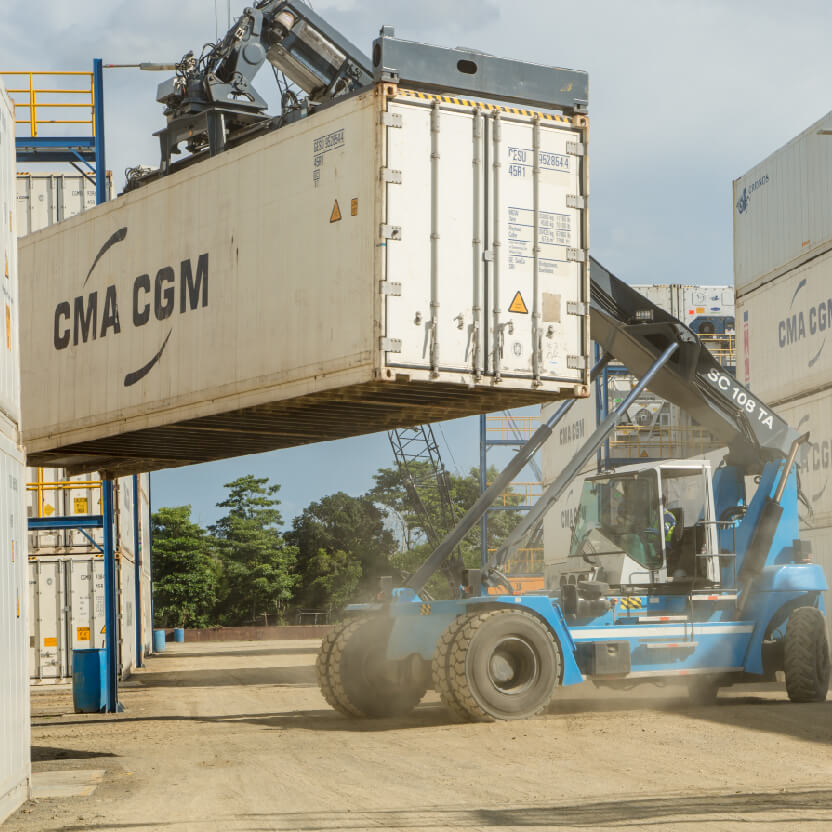Loading of containers